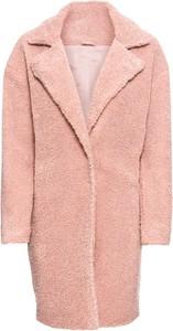 Różowy płaszcz bonprix BODYFLIRT w stylu casual