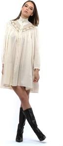 Sukienka Forte Forte z długim rękawem mini