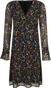 Sukienka Mytwin Twinset w stylu casual z dekoltem w kształcie litery v