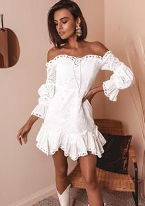 Sukienka Latika z długim rękawem hiszpanka