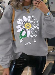 Bluzka Cikelly z okrągłym dekoltem