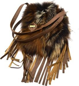 Torebka Tmc Naturalleather na ramię w stylu boho mała