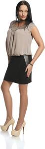 Bluzka Fokus z krótkim rękawem w street stylu