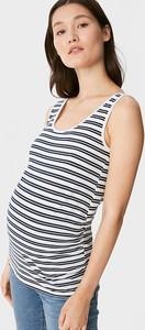 YESSICA C&A Wielopak 2 szt.-top ciążowy, Biały, Rozmiar: XS