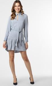 Niebieska sukienka Vero Moda z długim rękawem mini