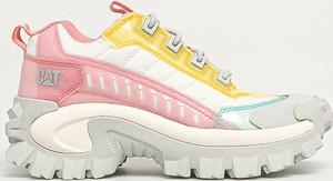 Buty sportowe Caterpillar z płaską podeszwą