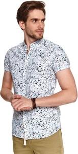 Koszula Top Secret z klasycznym kołnierzykiem w młodzieżowym stylu