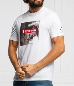 T-shirt Armani Exchange z krótkim rękawem w młodzieżowym stylu