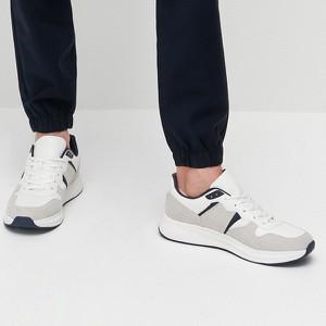 Buty sportowe Reserved w sportowym stylu ze skóry