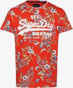 T-shirt Superdry z krótkim rękawem w młodzieżowym stylu z nadrukiem