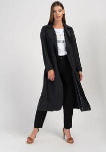 Czarny płaszcz Cotton Club