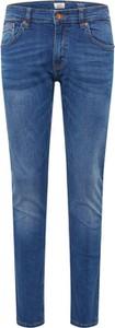 Niebieskie jeansy Q/s Designed By - S.oliver z jeansu
