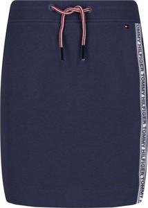 Niebieska spódniczka dziewczęca Tommy Hilfiger