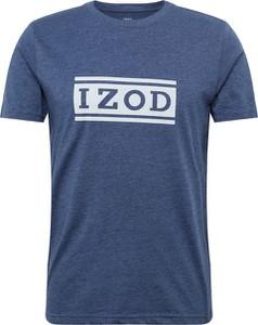 T-shirt Izod z tkaniny z krótkim rękawem