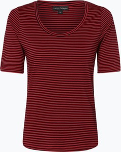 T-shirt Franco Callegari z bawełny z krótkim rękawem