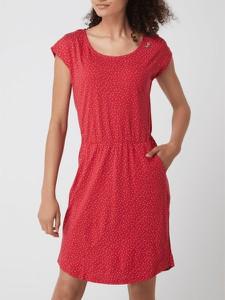 Sukienka Ragwear z bawełny z okrągłym dekoltem