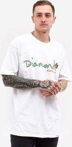 T-shirt Diamond Supply z żakardu