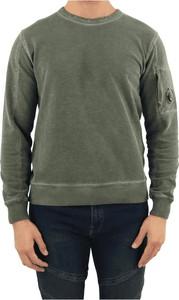 Zielona bluza C.P. Company w stylu casual