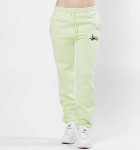 Spodnie sportowe Stussy z dresówki