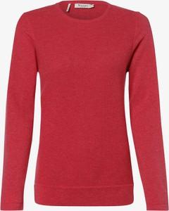 Różowy sweter März w stylu casual