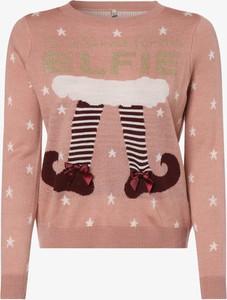 Sweter Only w bożonarodzeniowy wzór