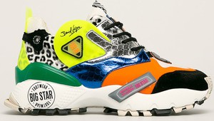 Sneakersy Big Star na platformie