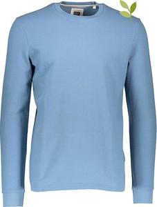 Niebieski sweter Marc O'Polo z okrągłym dekoltem