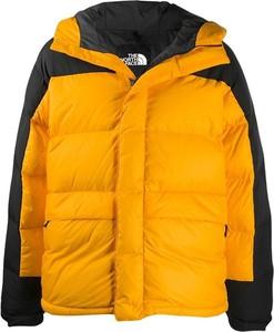 Żółta kurtka The North Face krótka