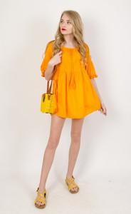Pomarańczowa bluzka Olika