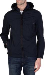 Niebieska kurtka C.P. Company w stylu casual krótka