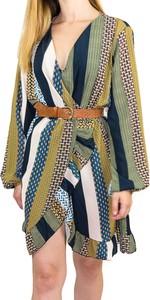 Sukienka Manumo w stylu casual mini wyszczuplająca