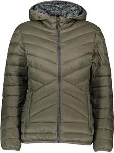 Zielona kurtka CMP krótka w stylu casual