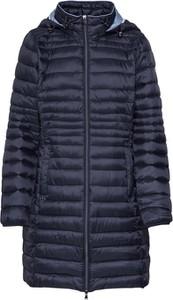 Granatowy płaszcz Esprit