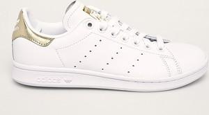 Trampki Adidas Originals ze skóry stan smith sznurowane