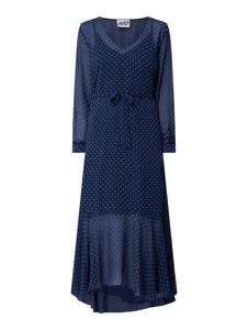 Sukienka JUST FEMALE z dekoltem w kształcie litery v w stylu casual z szyfonu