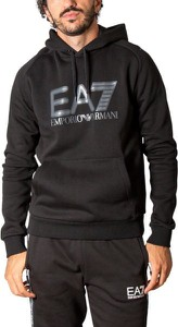 Czarna bluza Emporio Armani w młodzieżowym stylu