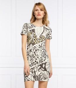 Sukienka Desigual w stylu casual z krótkim rękawem mini