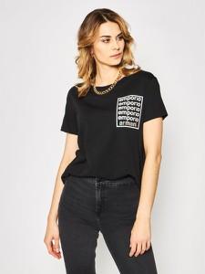 T-shirt Emporio Armani z okrągłym dekoltem