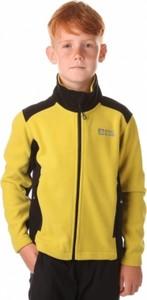 Żółta bluza dziecięca NORDBLANC