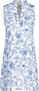 Sukienka Tory Burch w stylu casual z dekoltem w kształcie litery v