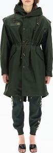 Zielona kurtka Mr&mrs Italy w stylu casual