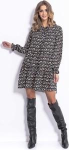 Sukienka Fobya z długim rękawem w stylu boho