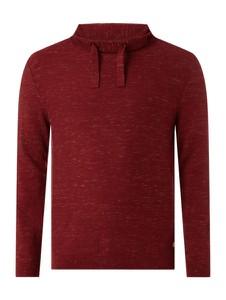 Czerwony sweter S.oliver Plus w stylu casual