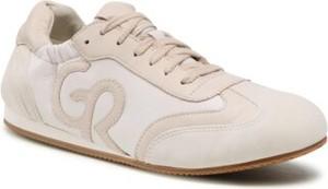 Buty sportowe Gino Rossi sznurowane z płaską podeszwą