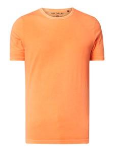 Pomarańczowy t-shirt McNeal z krótkim rękawem