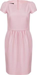 Sukienka Moschino mini z krótkim rękawem