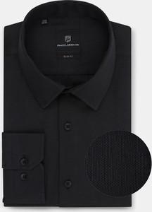 Czarna koszula Pako Lorente z długim rękawem