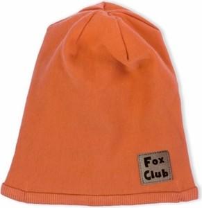 Pomarańczowa czapka Nicol
