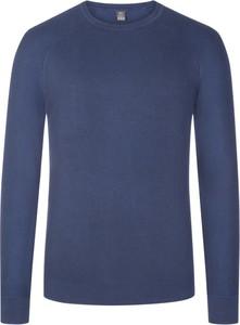 Niebieski sweter S.Oliver w stylu casual z bawełny
