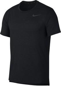 Czarny t-shirt Nike z bawełny
